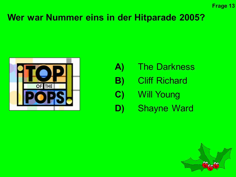 Wer war Nummer eins in der Hitparade 2005