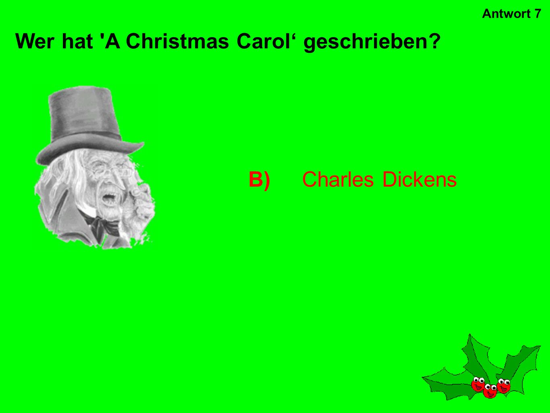 Wer hat A Christmas Carol' geschrieben