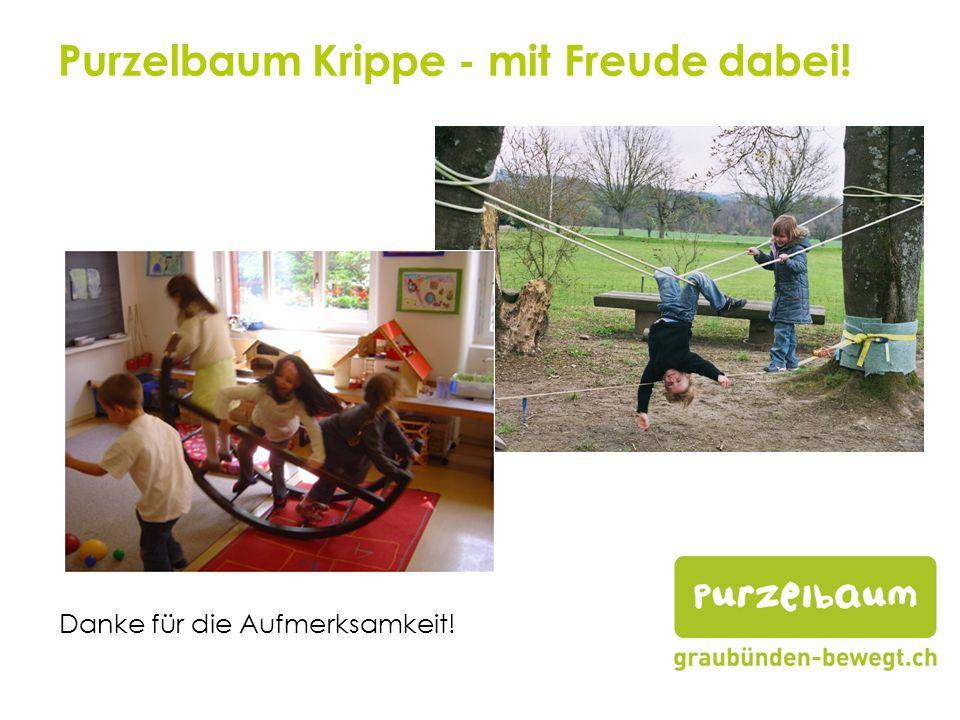 Purzelbaum Krippe - mit Freude dabei!
