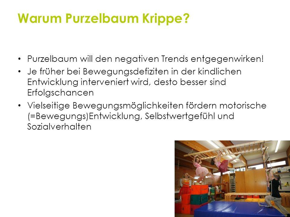 Warum Purzelbaum Krippe