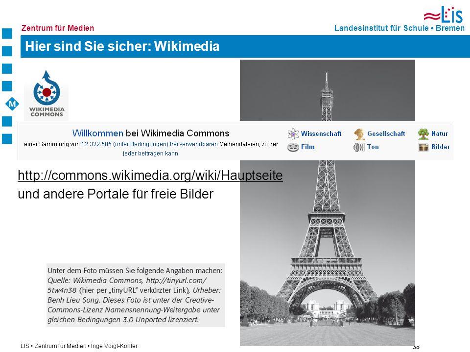 Hier sind Sie sicher: Wikimedia