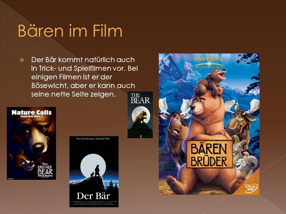 Bären im Film
