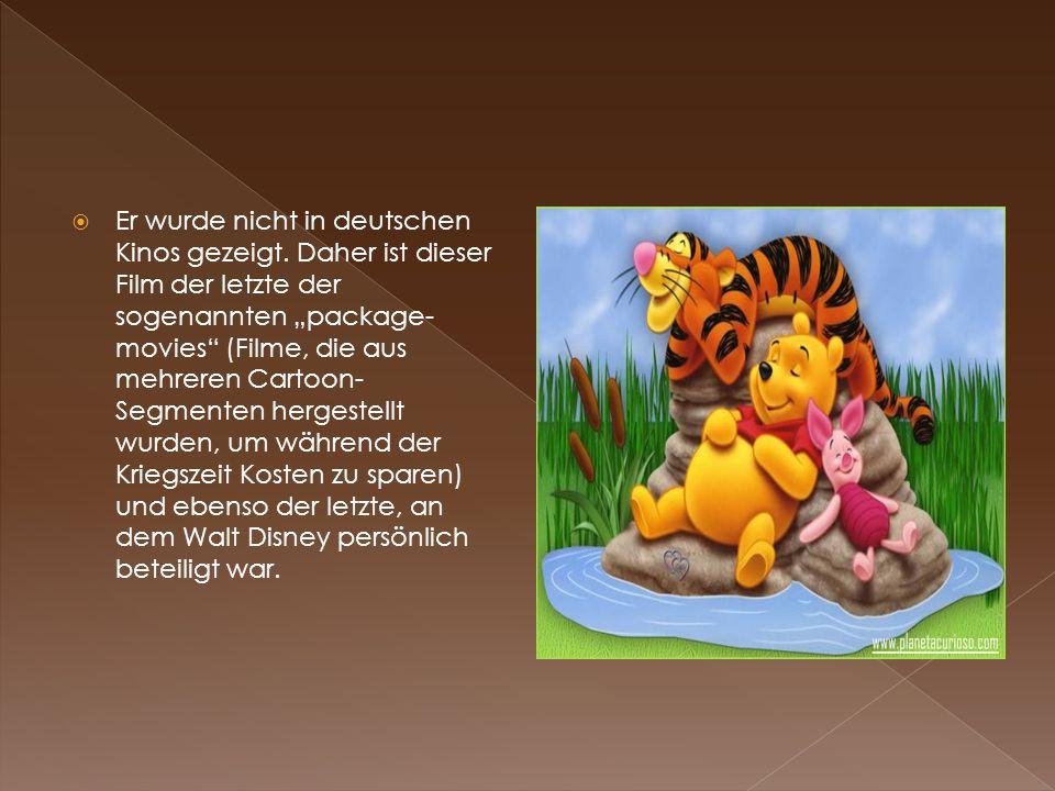 Er wurde nicht in deutschen Kinos gezeigt