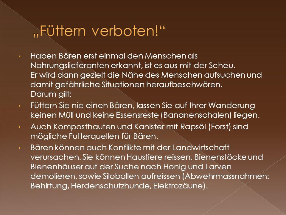 """""""Füttern verboten!"""