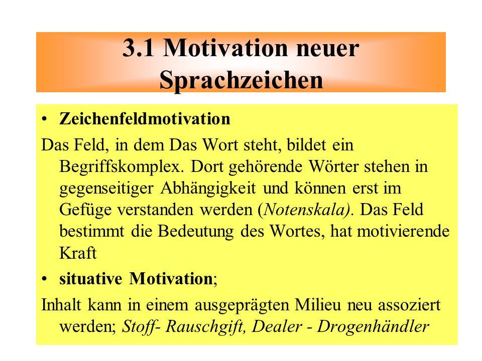 3.1 Motivation neuer Sprachzeichen