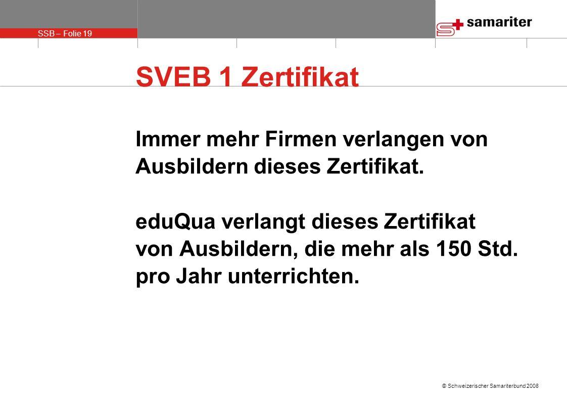 SVEB 1 Zertifikat Immer mehr Firmen verlangen von