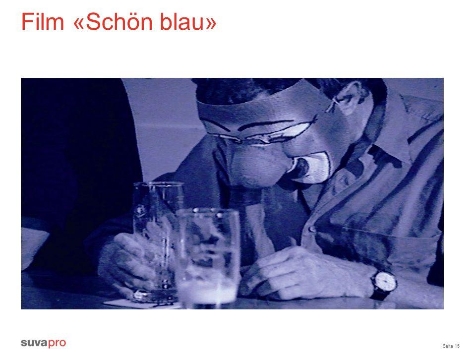 Film «Schön blau» Diskussion.