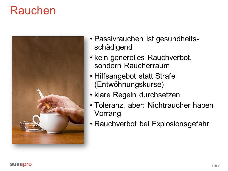 Rauchen Passivrauchen ist gesundheits- schädigend