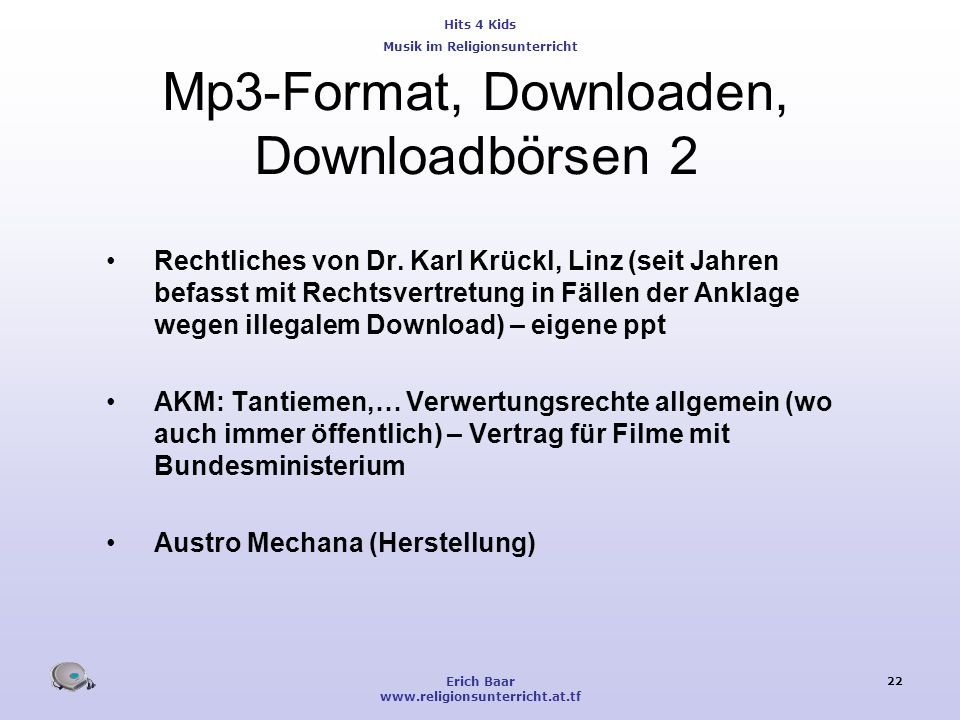 Mp3-Format, Downloaden, Downloadbörsen 2