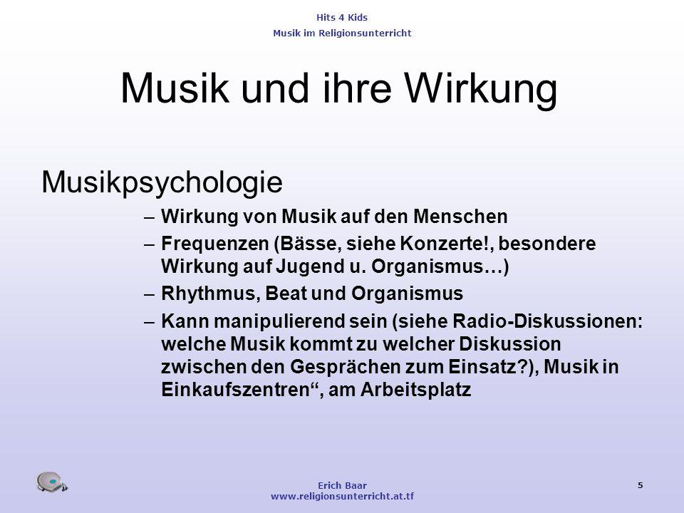 Musik und ihre Wirkung Musikpsychologie