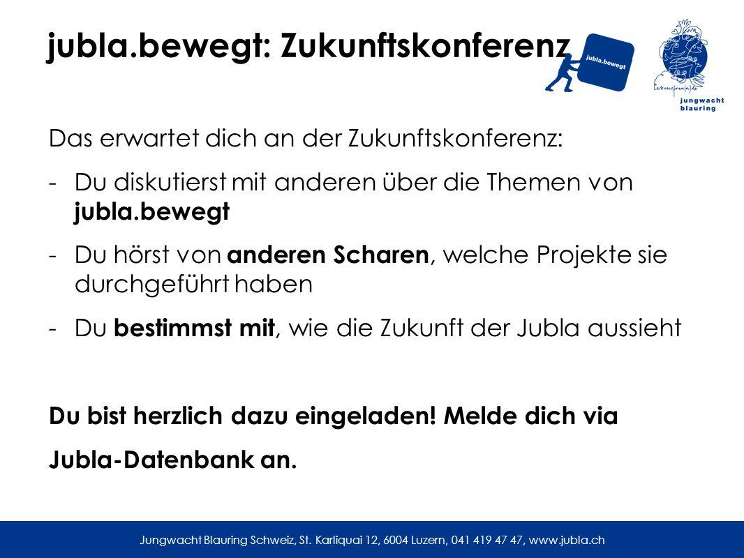 jubla.bewegt: Zukunftskonferenz