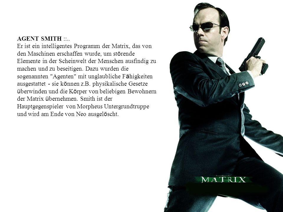 AGENT SMITH ::..
