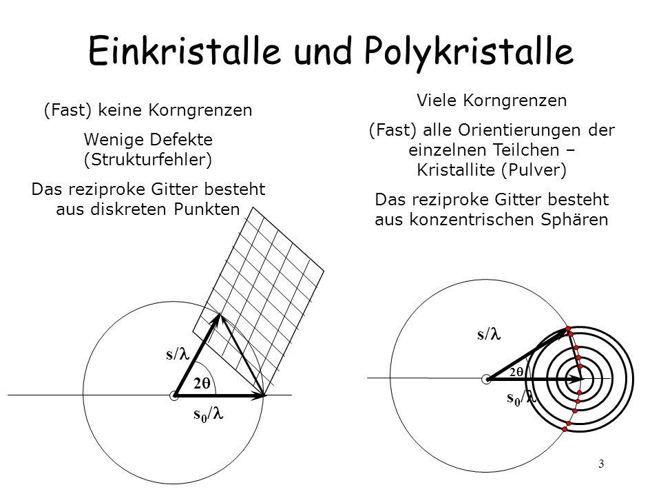 Einkristalle und Polykristalle