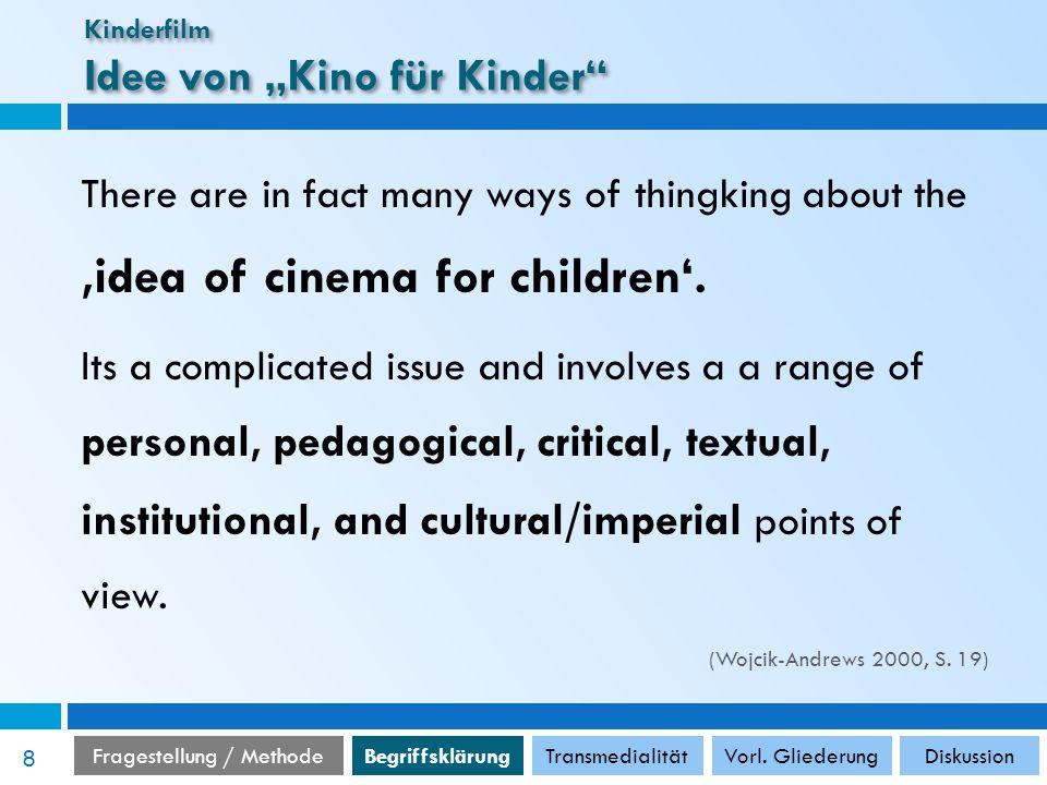 """Kinderfilm Idee von """"Kino für Kinder"""