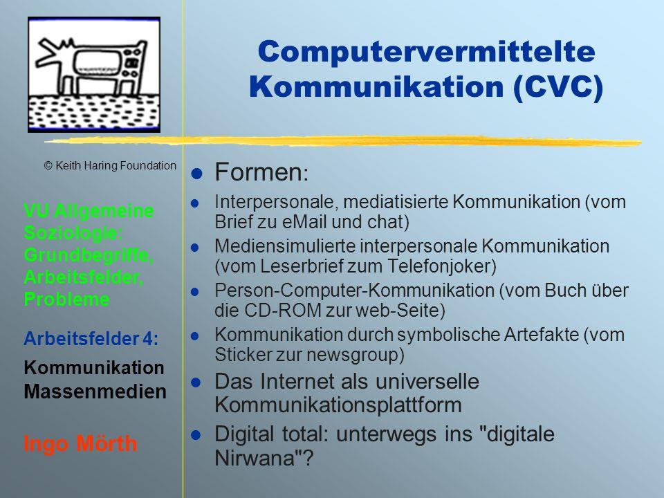 Computervermittelte Kommunikation (CVC)