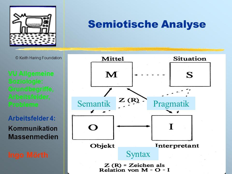 Semiotische Analyse Semantik Pragmatik Syntax