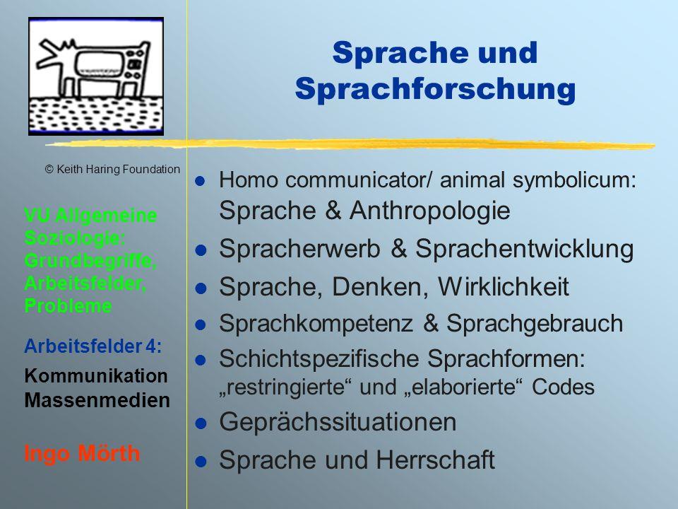 Sprache und Sprachforschung