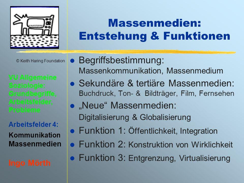 Massenmedien: Entstehung & Funktionen