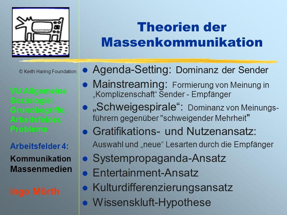 Theorien der Massenkommunikation