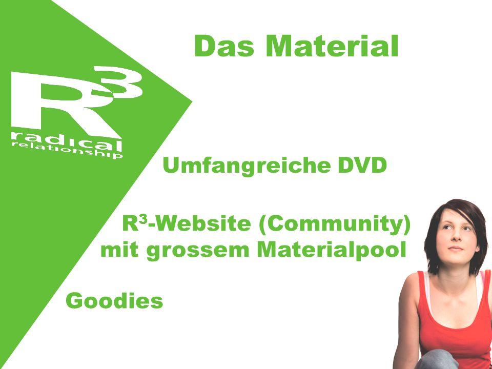 Das Material Umfangreiche DVD