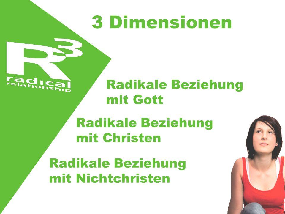 3 Dimensionen Radikale Beziehung mit Gott