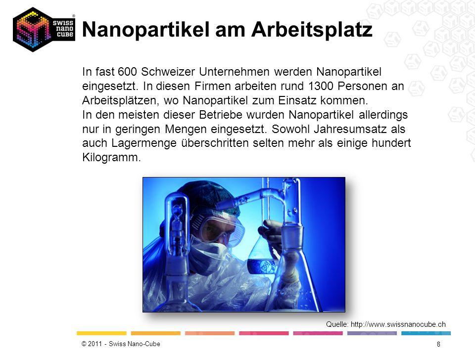 Nanopartikel am Arbeitsplatz