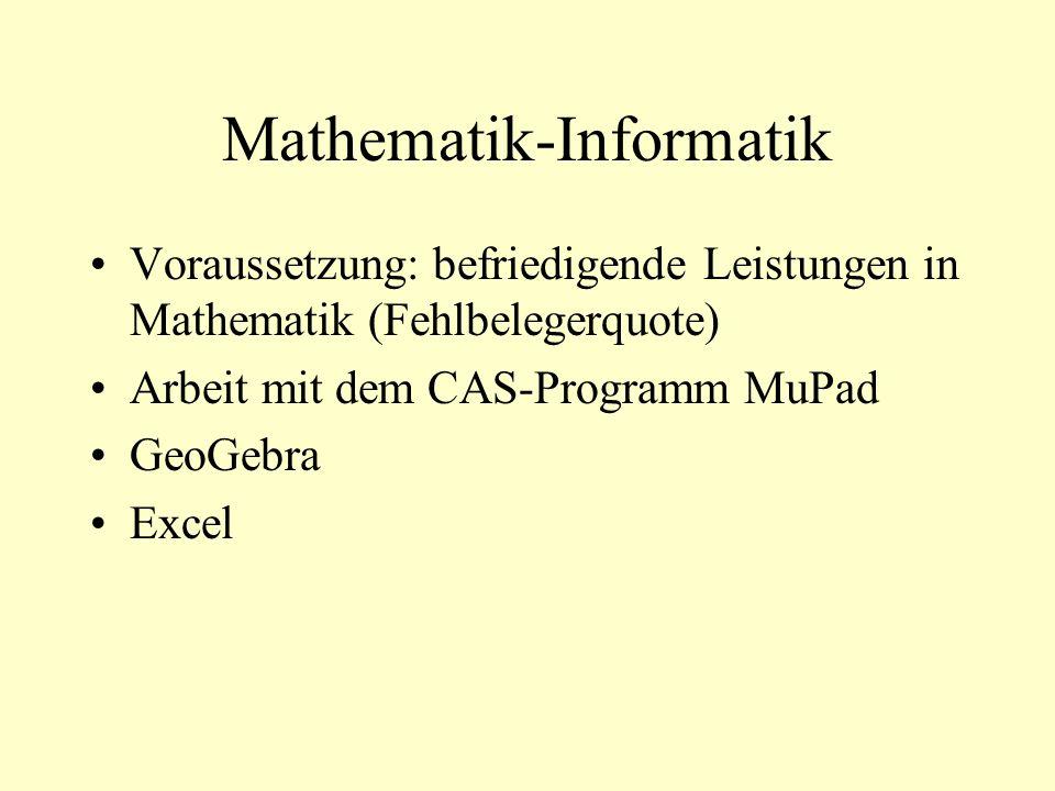 Mathematik-Informatik