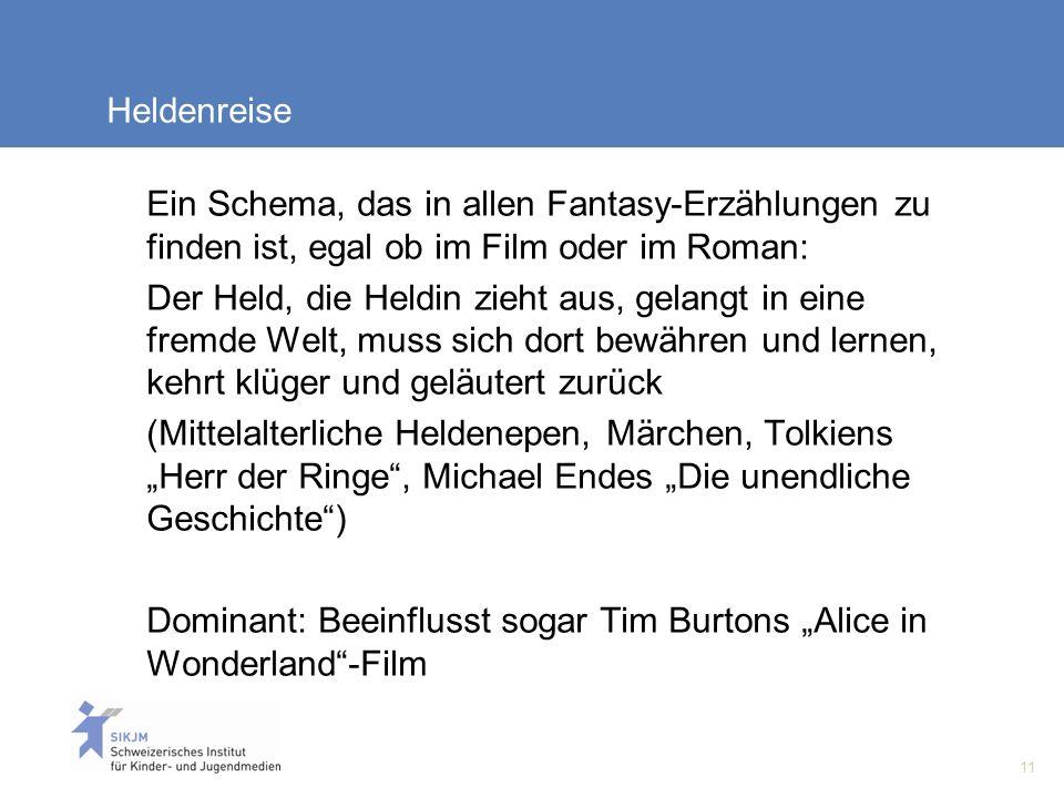 Heldenreise Ein Schema, das in allen Fantasy-Erzählungen zu finden ist, egal ob im Film oder im Roman: