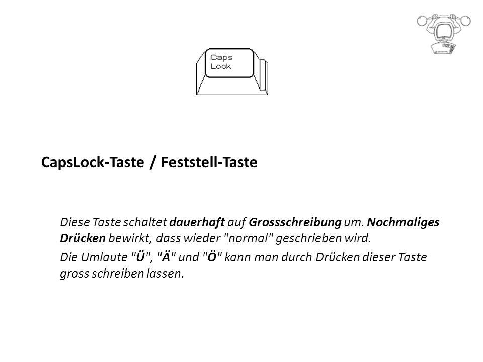 CapsLock-Taste / Feststell-Taste