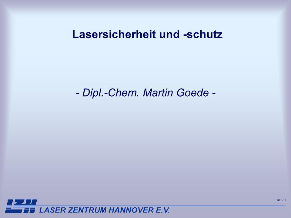 Lasersicherheit und -schutz