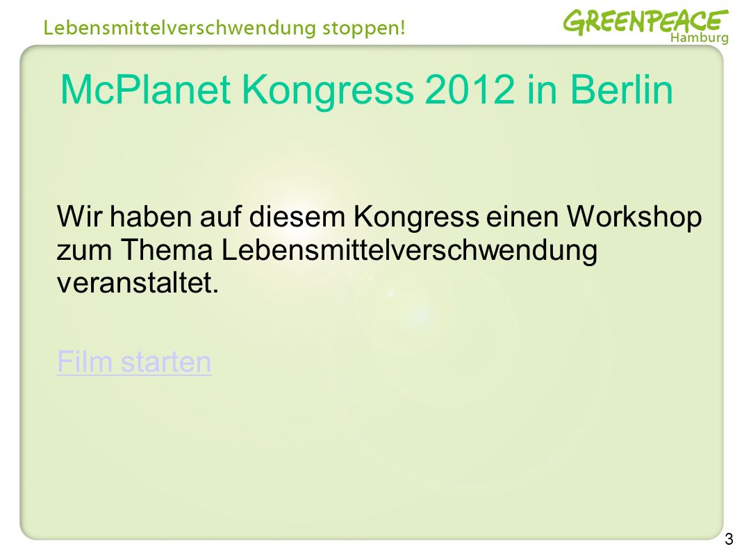 McPlanet Kongress 2012 in Berlin