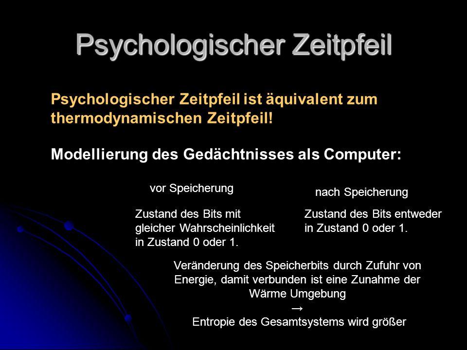 Psychologischer Zeitpfeil