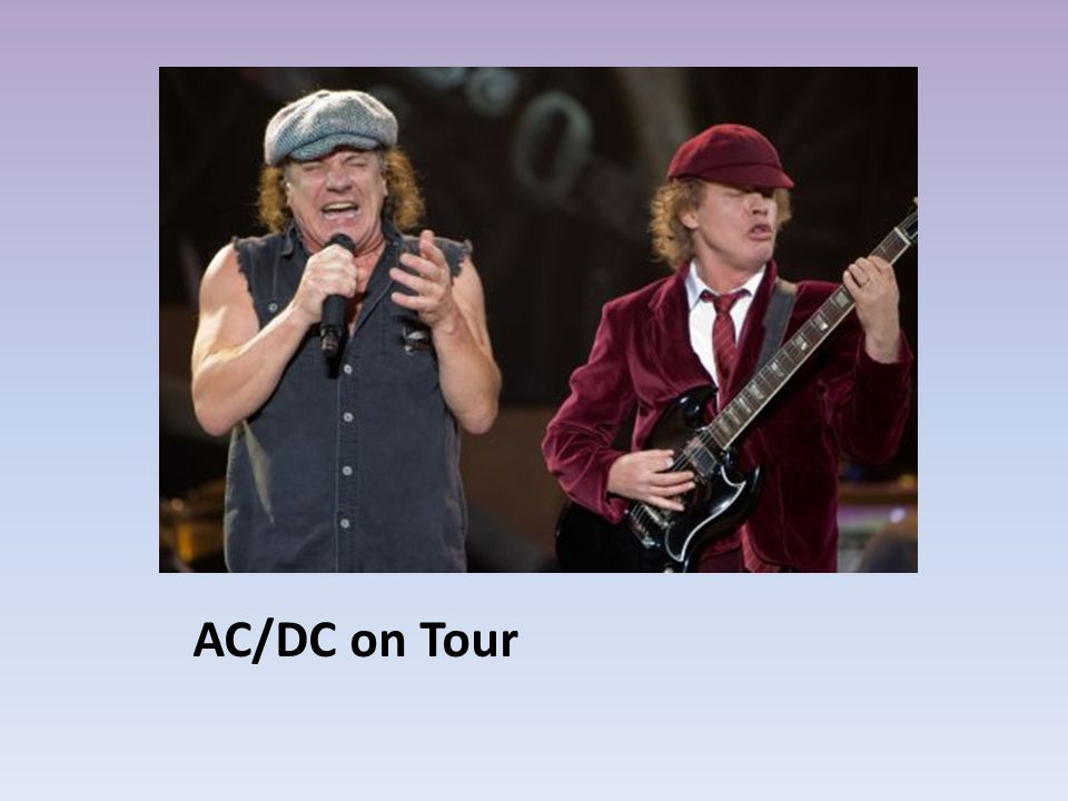 AC/DC on Tour