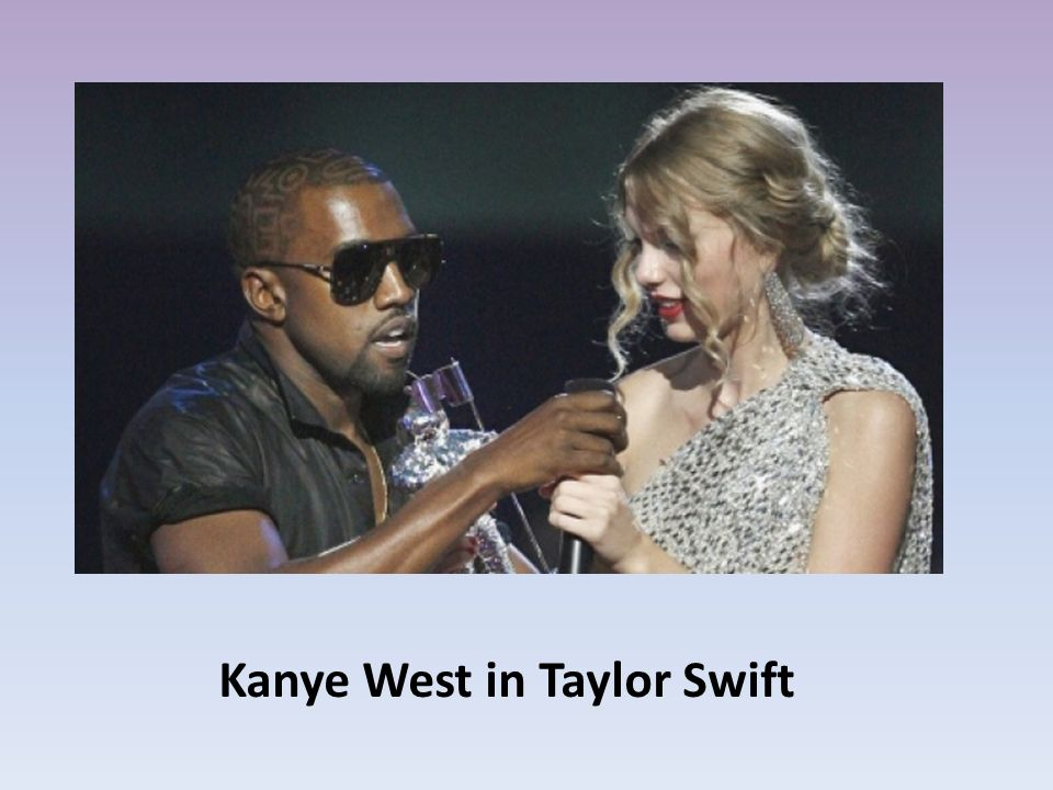 Kanye West in Taylor Swift