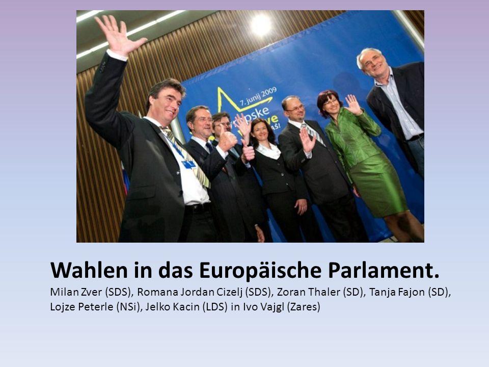Wahlen in das Europäische Parlament