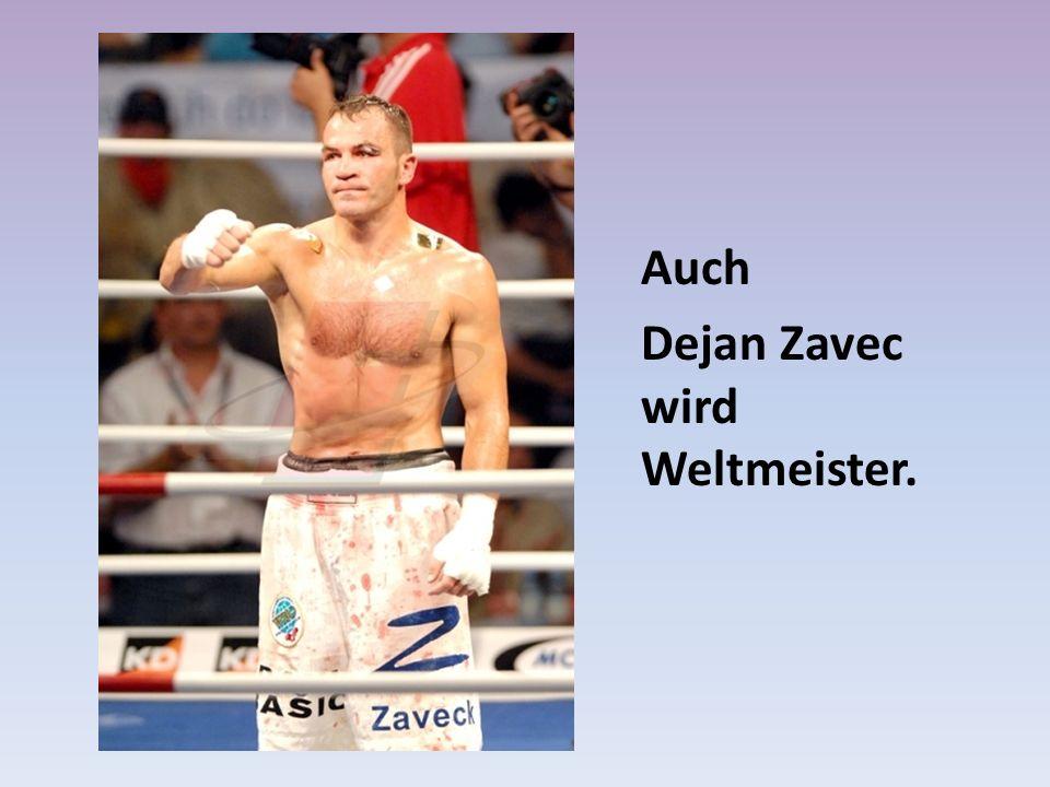 Dejan Zavec wird Weltmeister.