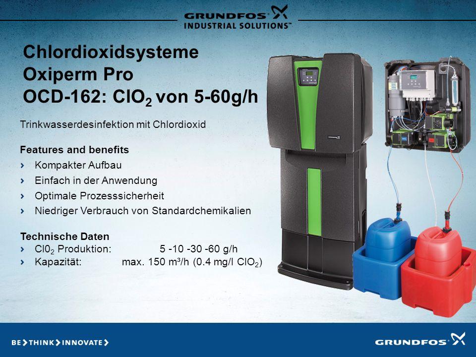 Chlordioxidsysteme Oxiperm Pro OCD-162: ClO2 von 5-60g/h