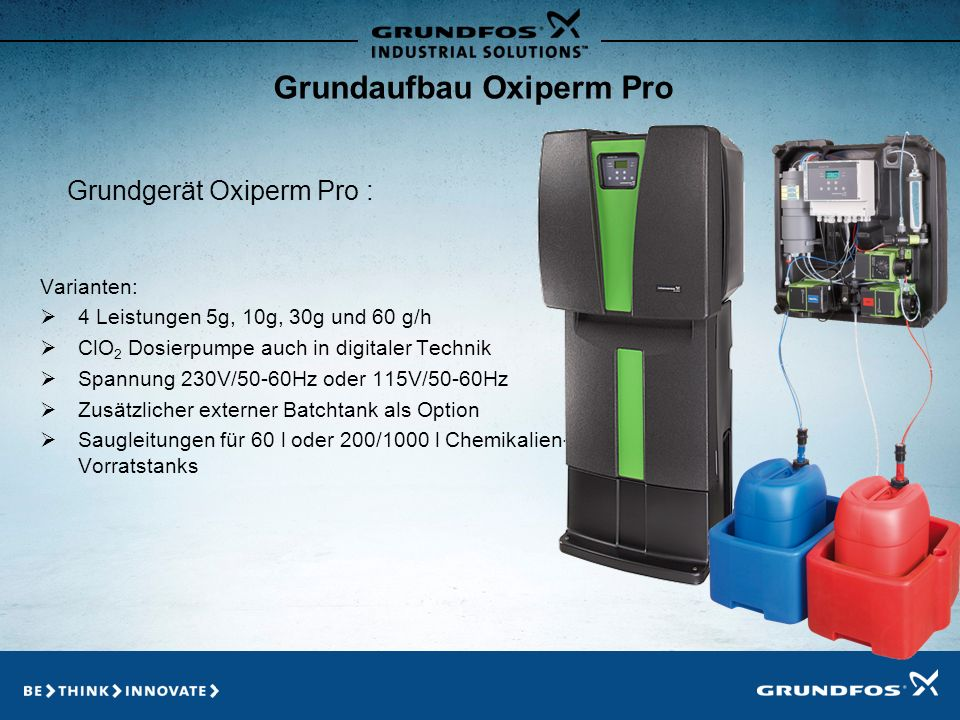 Grundaufbau Oxiperm Pro