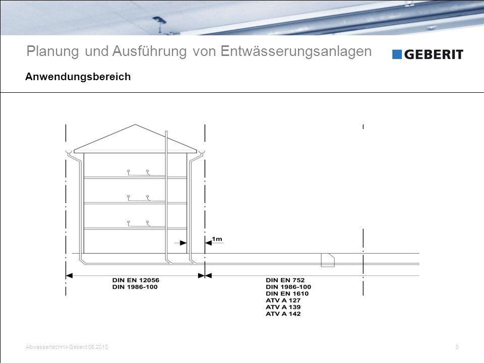 Planung und Ausführung von Entwässerungsanlagen