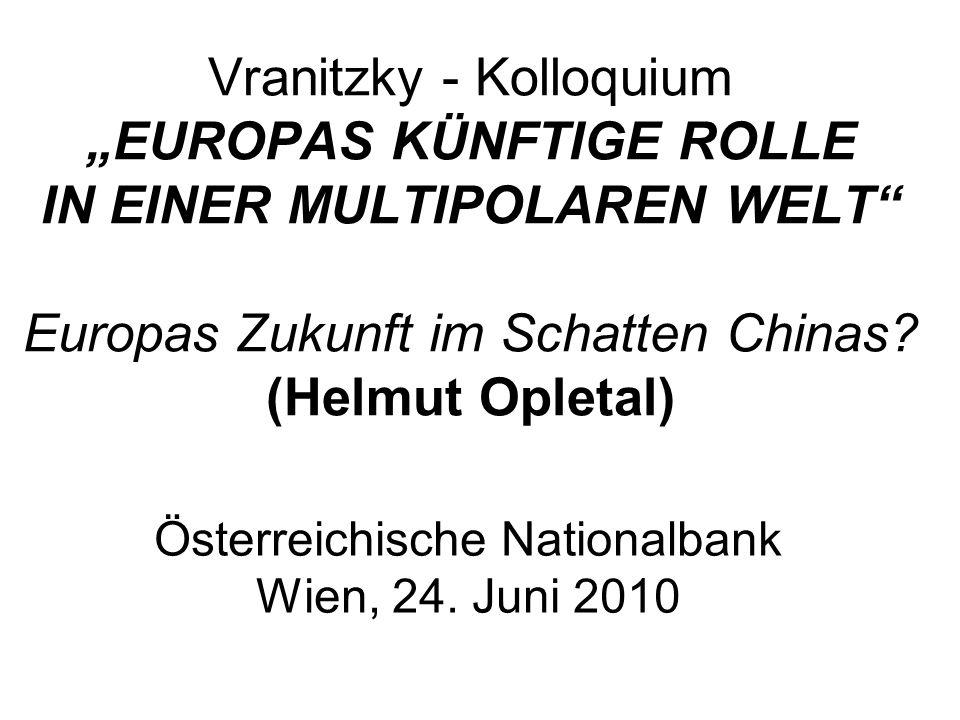 Österreichische Nationalbank Wien, 24. Juni 2010
