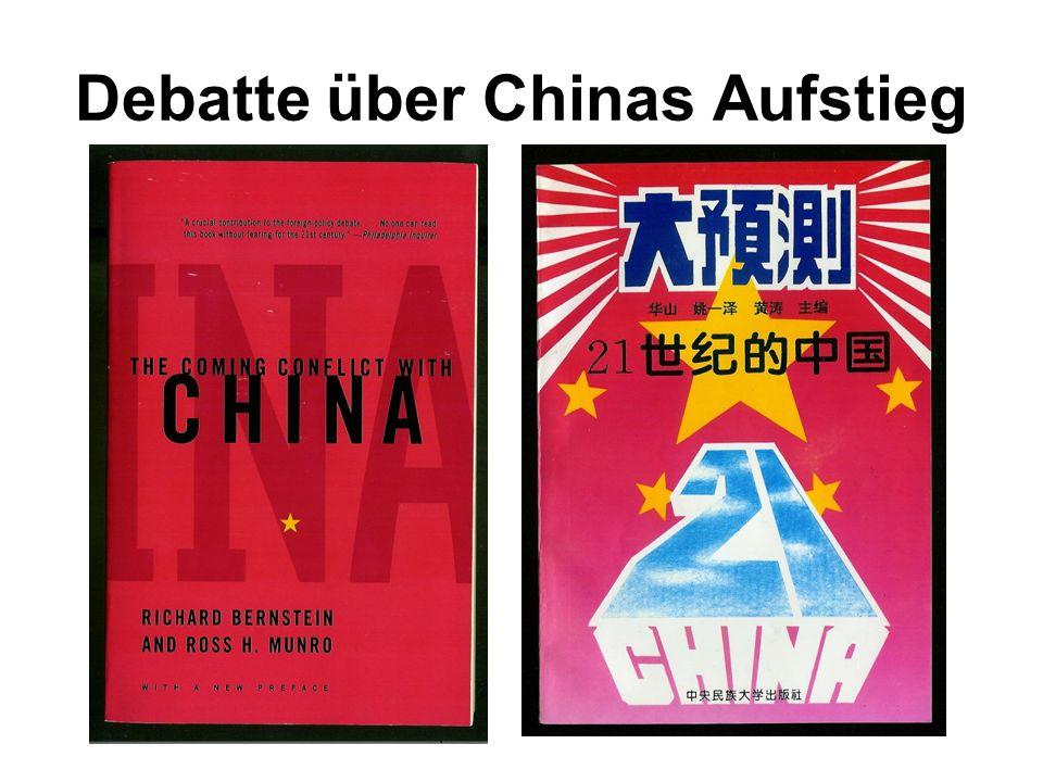 Debatte über Chinas Aufstieg