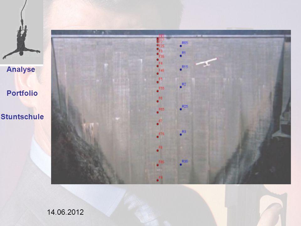 Einleitung Analyse Portfolio Stuntschule 14.06.2012