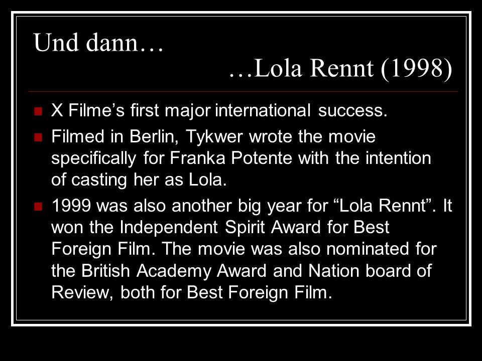 Und dann… …Lola Rennt (1998)