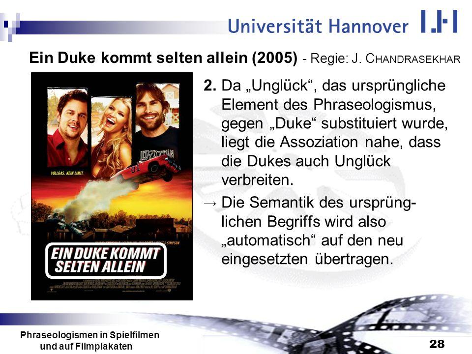 Ein Duke kommt selten allein (2005) - Regie: J. CHANDRASEKHAR