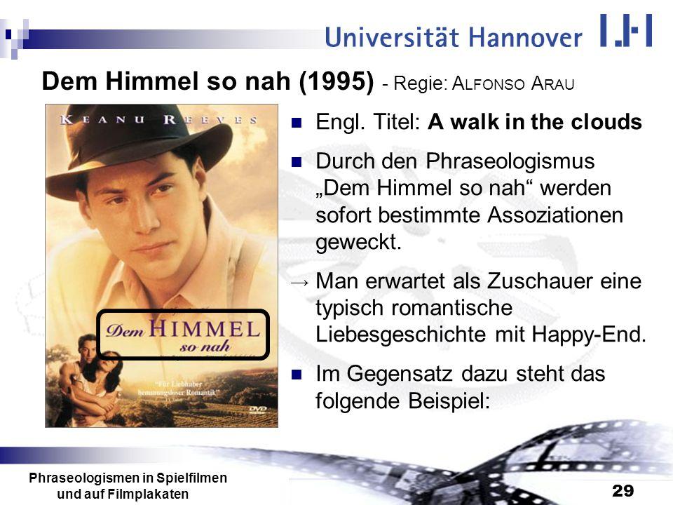 Dem Himmel so nah (1995) - Regie: ALFONSO ARAU