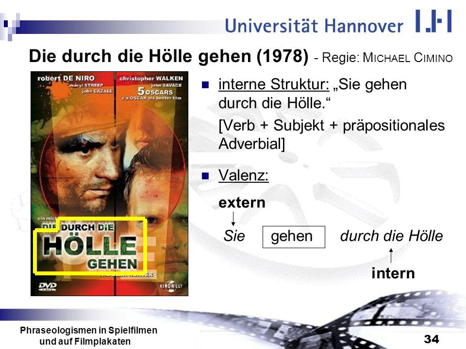 Die durch die Hölle gehen (1978) - Regie: MICHAEL CIMINO
