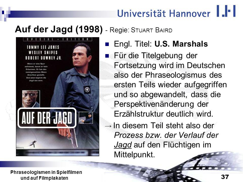 Auf der Jagd (1998) - Regie: STUART BAIRD