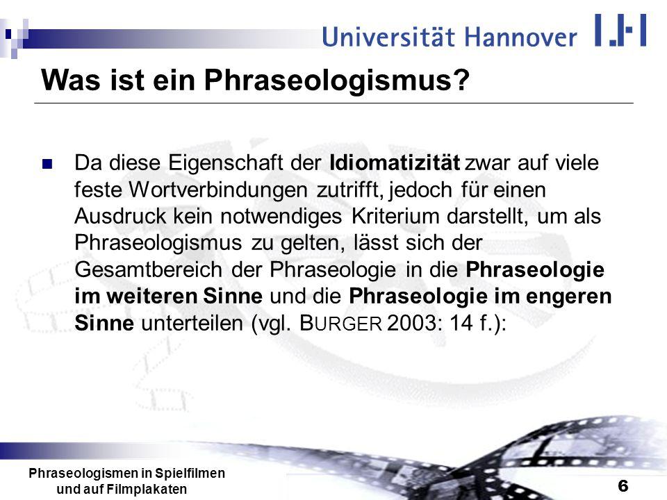 Was ist ein Phraseologismus