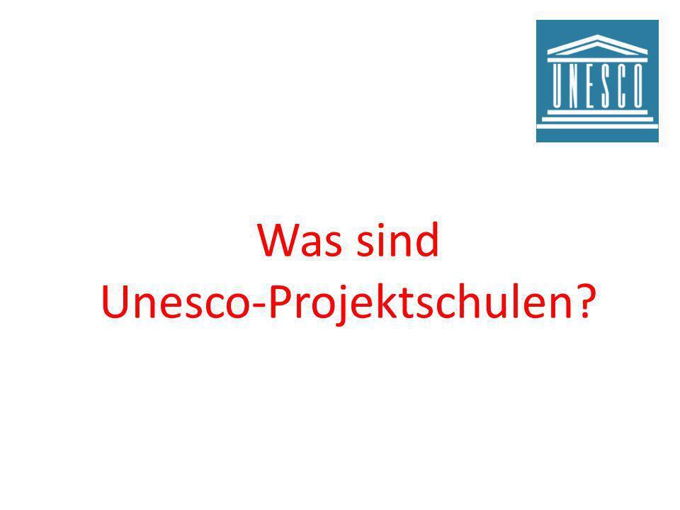 Was sind Unesco-Projektschulen