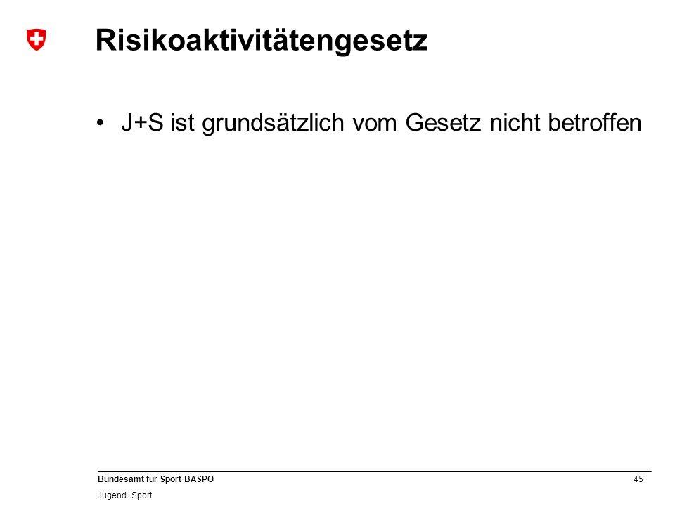 Risikoaktivitätengesetz